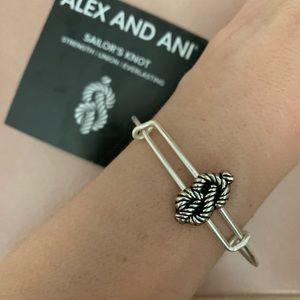 NWT Alex and Ani Sailor Knot bracelet
